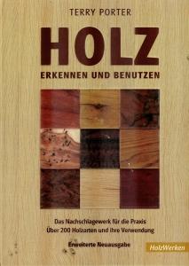 """Buchumschlag """"Holz erkennen und benutzen"""""""